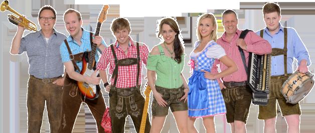 Die Hessentaler - zeltband - Stimmungsband - Oktoberfestband
